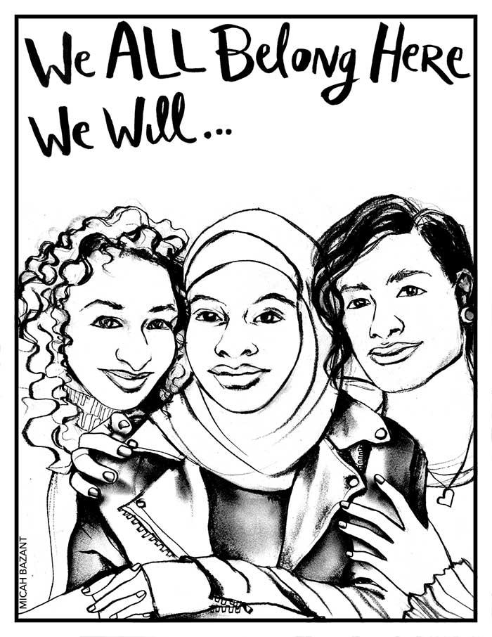 We All Belong Here — Micah Bazant