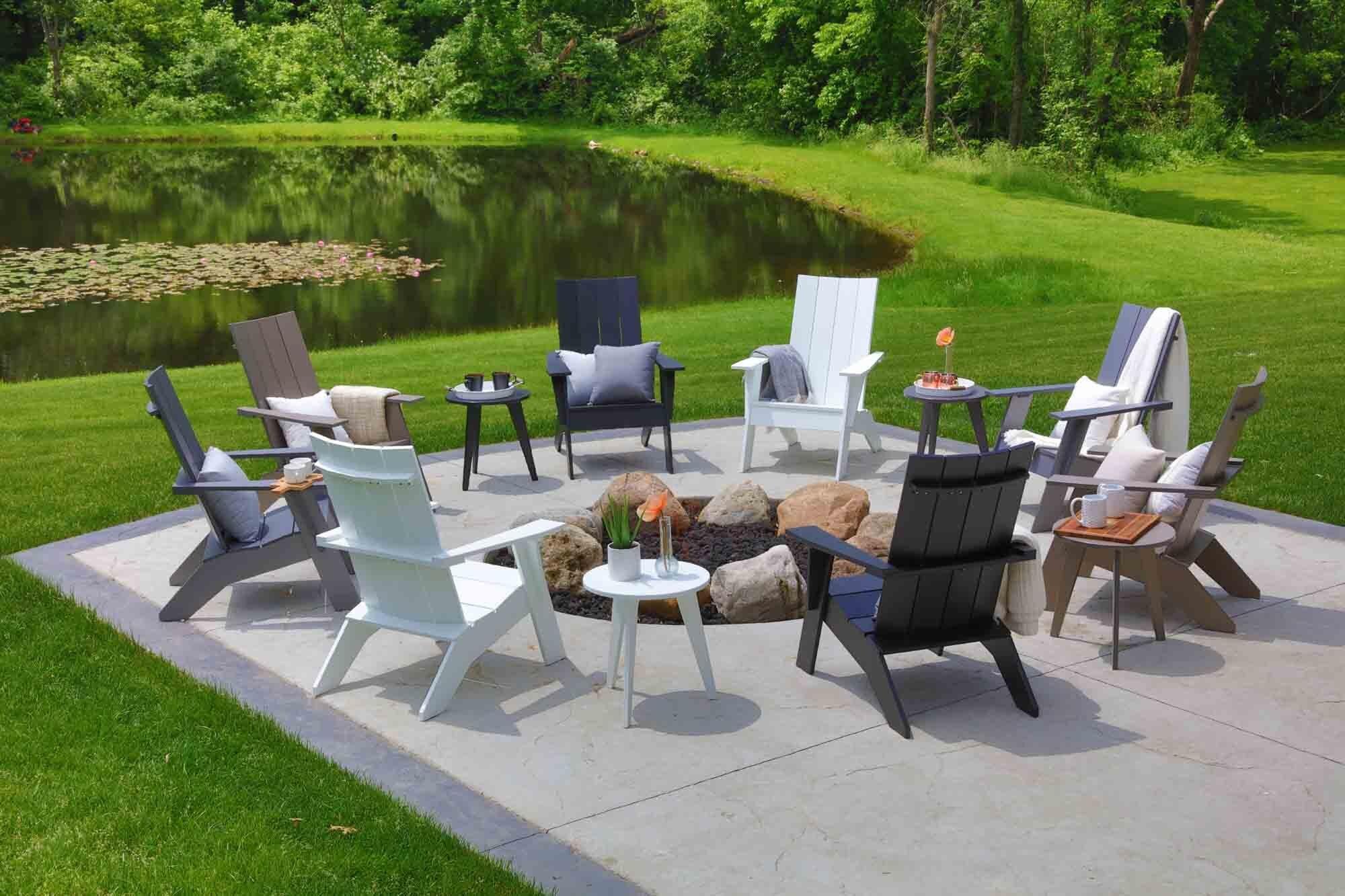 nordic adirondack outdoor furniture