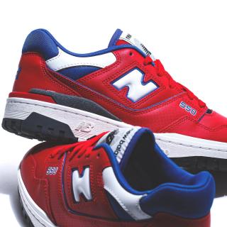 New Balance 550 'Red / Blue'