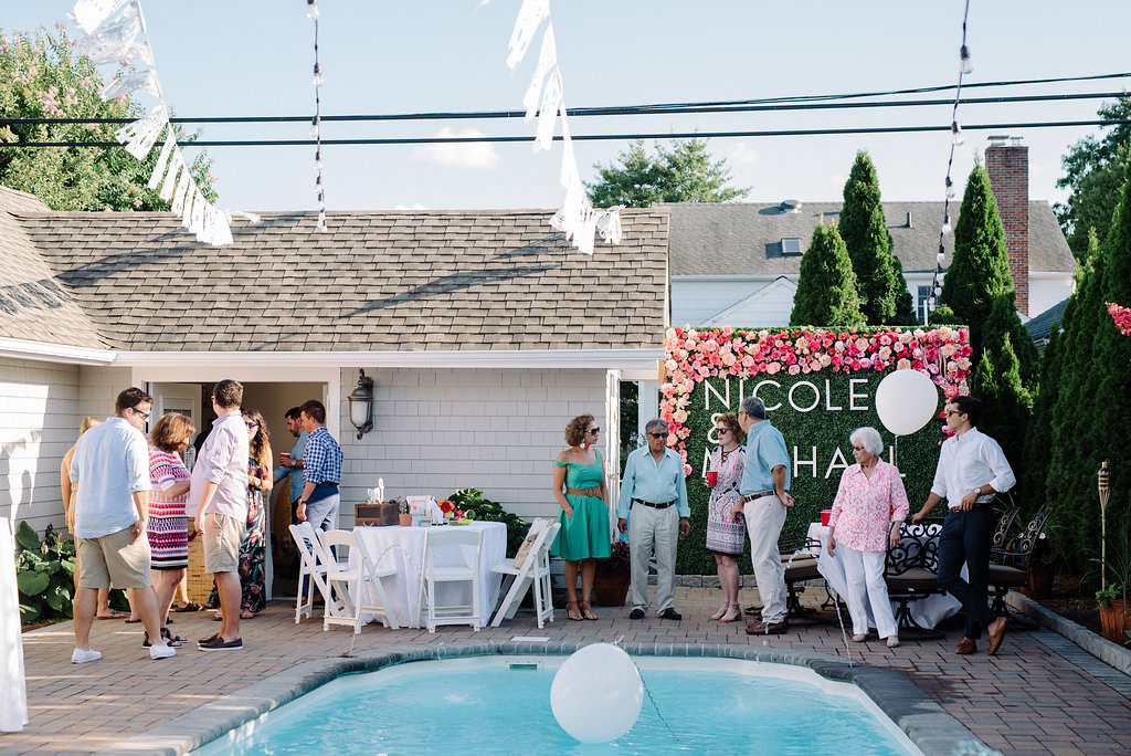 Fiesta Themed Engagement Party Sea Girt New Jersey Olivia Christina Photography