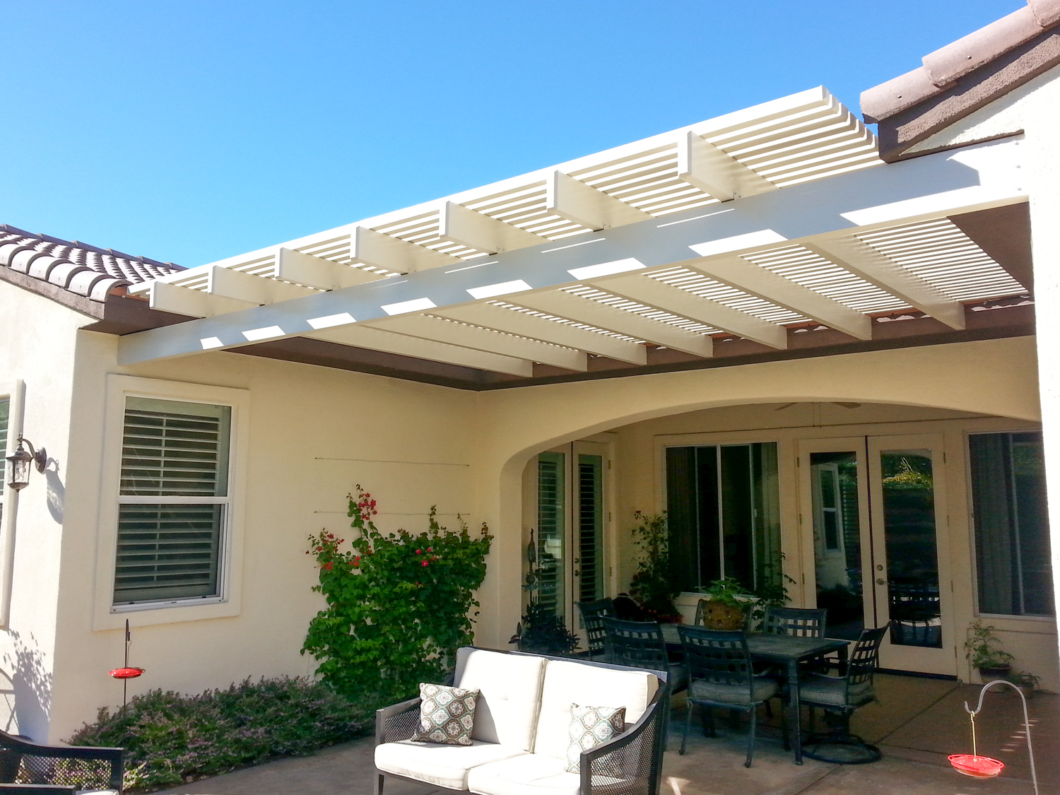 patio awnings in palm springs