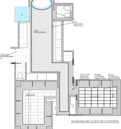 master bath tile design layout in complicated setting [ 1000 x 1126 Pixel ]