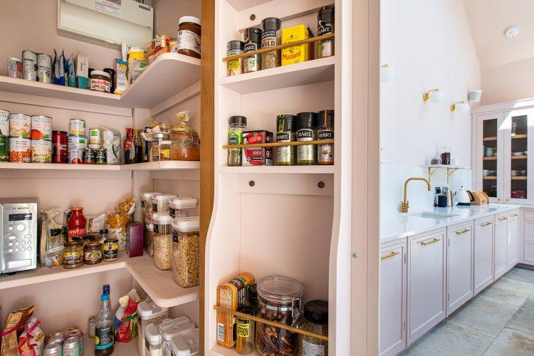 Sevenoaks Bespoke Kitchen Herringbone Kitchens