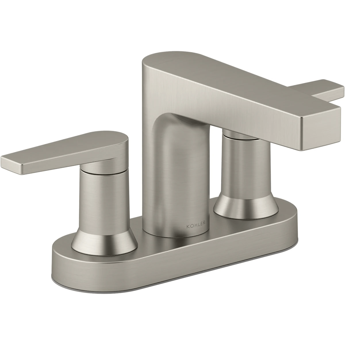 k 97031 4 kohler taut 1 2 gpm bathroom sink faucet centerset bathroom faucet with pop up drain assembly tutto moderno