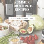 Plant Based Crockpot Recipes Light Fresh For Summer Jess Baumgardner