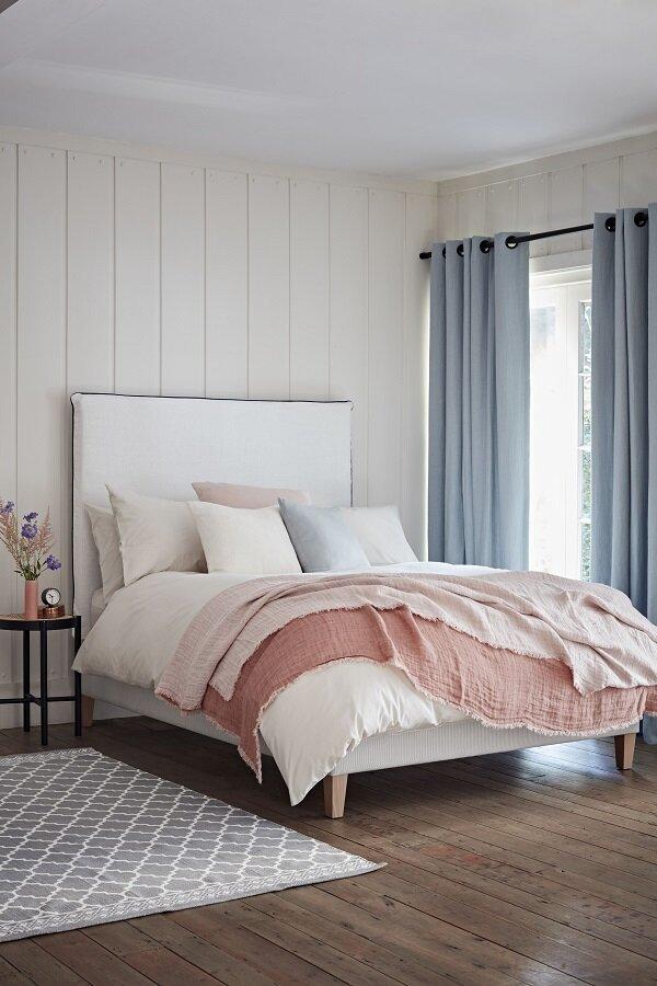 Bedding from  Loom & Last