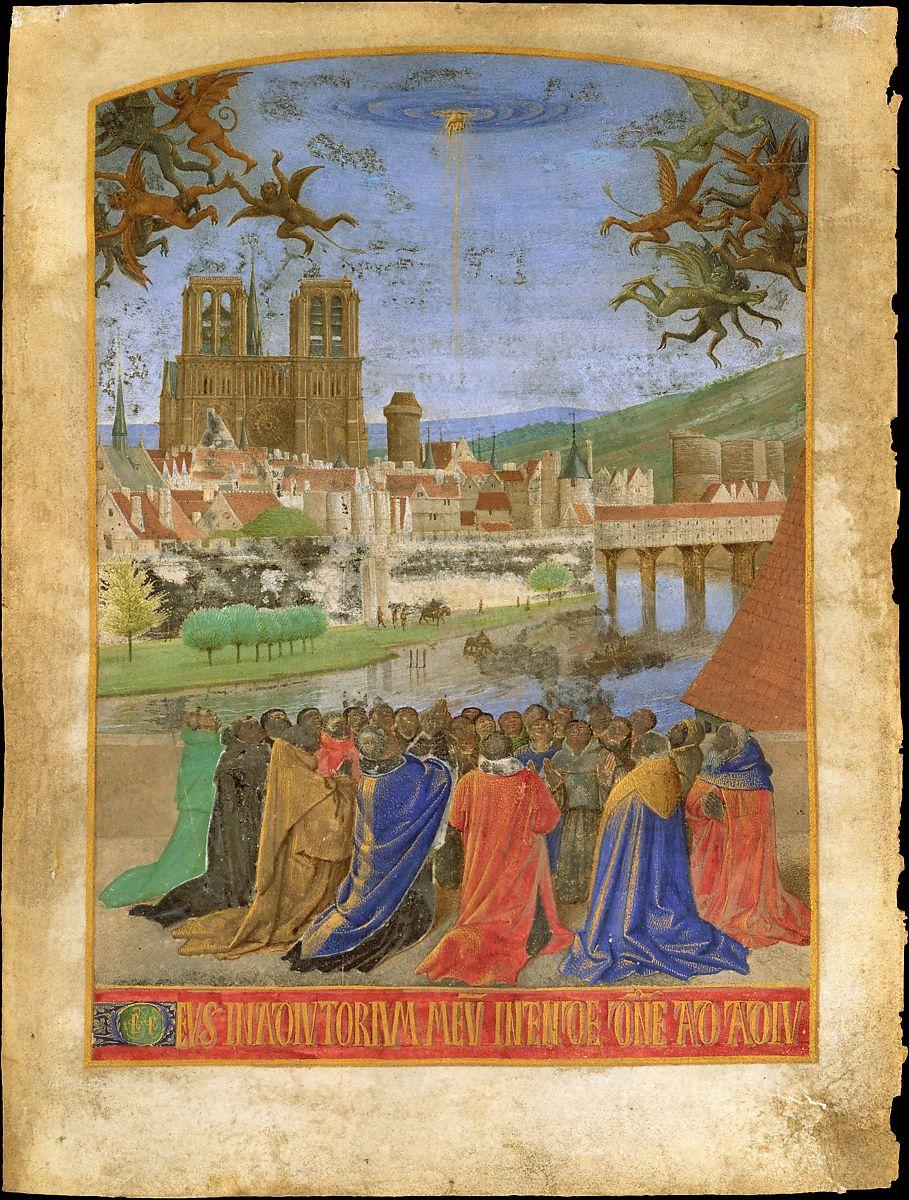 Notre Dame De Paris Au Moyen Age : notre, paris, moyen, Notre-Dame, Paris, International, Center, Medieval