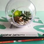 Diy Artificial Succulent Dino Terrarium My Only Sunshine