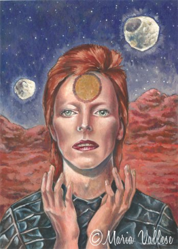 "Life on Mars?"" David Bowie Print — Retro Sorrento"