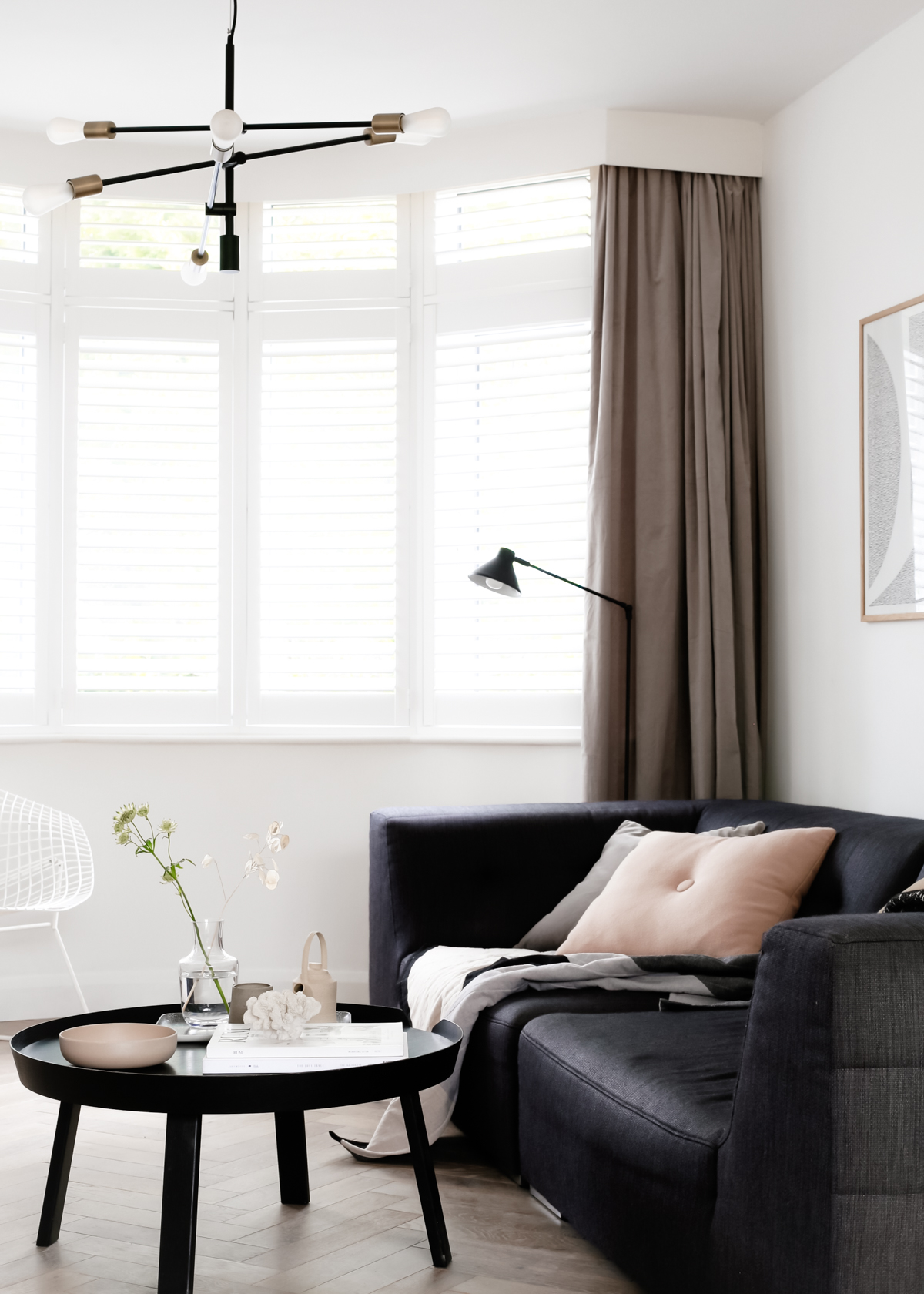 Why We Chose Shutters For Our 1930s Bay Windows Design Hunter