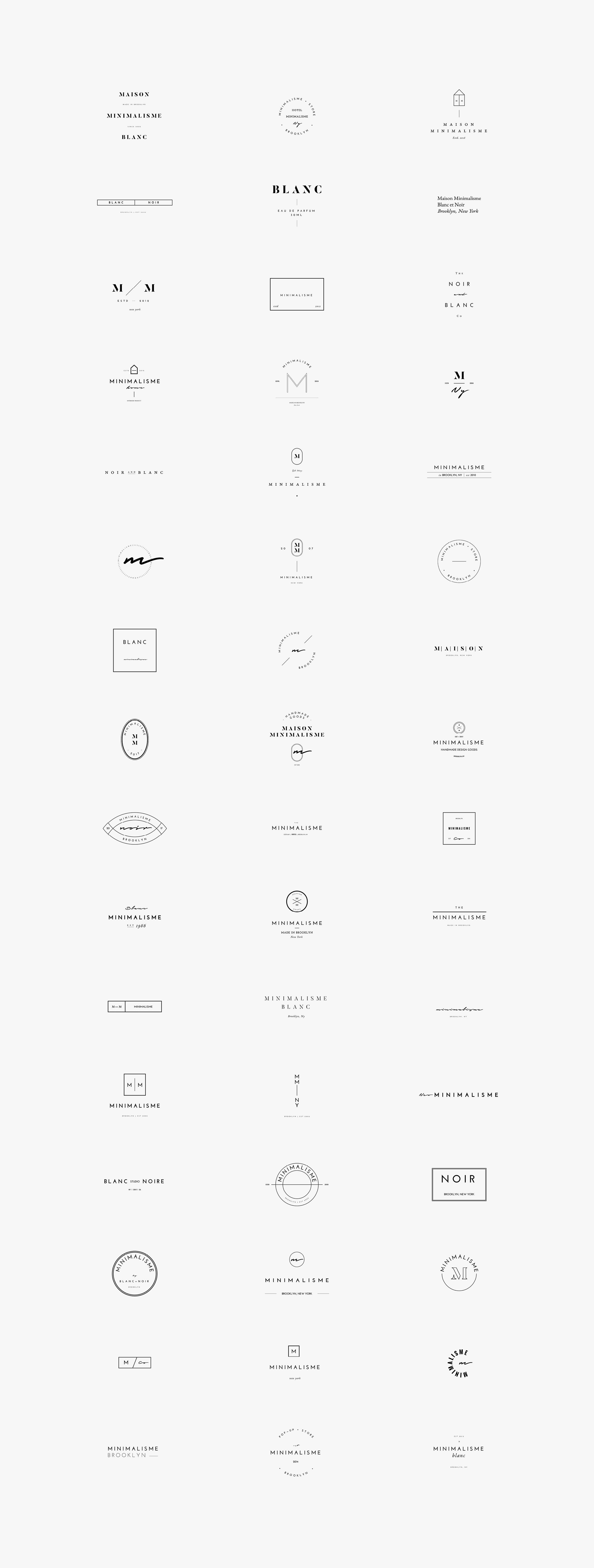 50 Fashion Logos — Temply