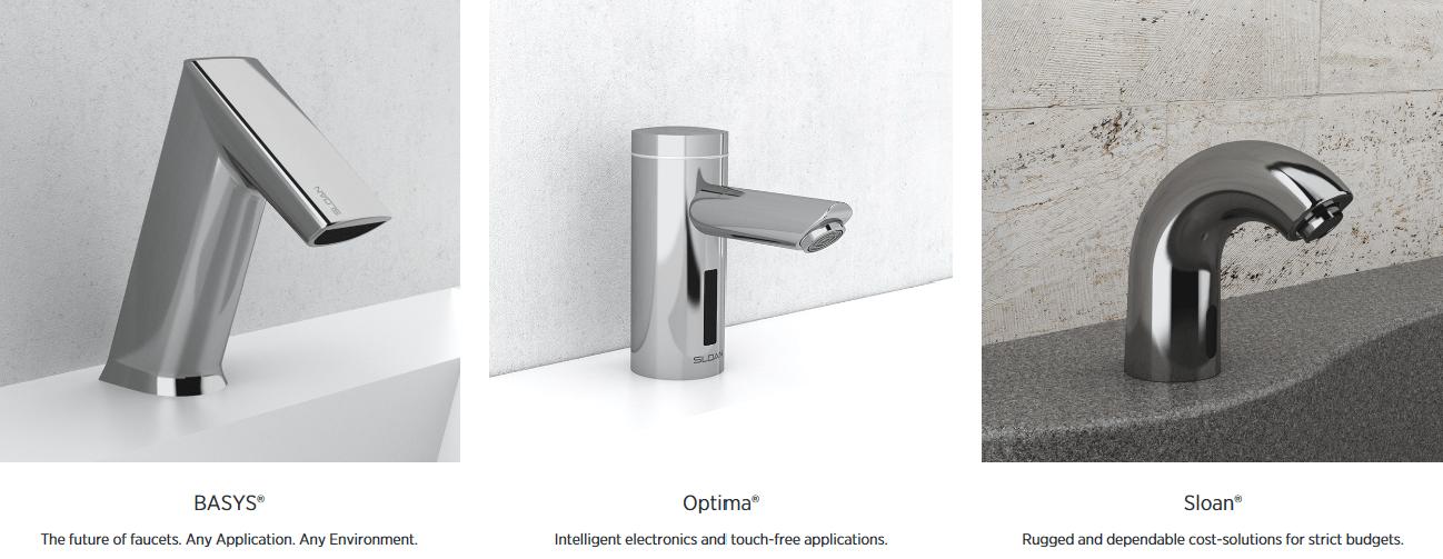 faucets by sloan delco sales