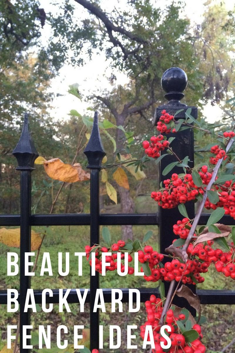 Beautiful Backyard Fence Ideas Hurd Honey