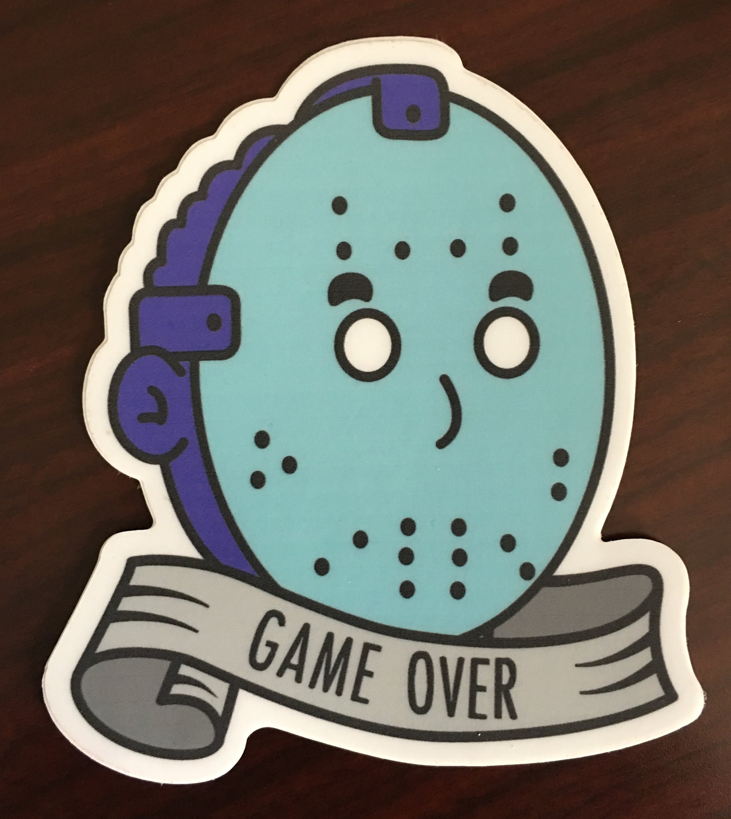 game over stickers proton