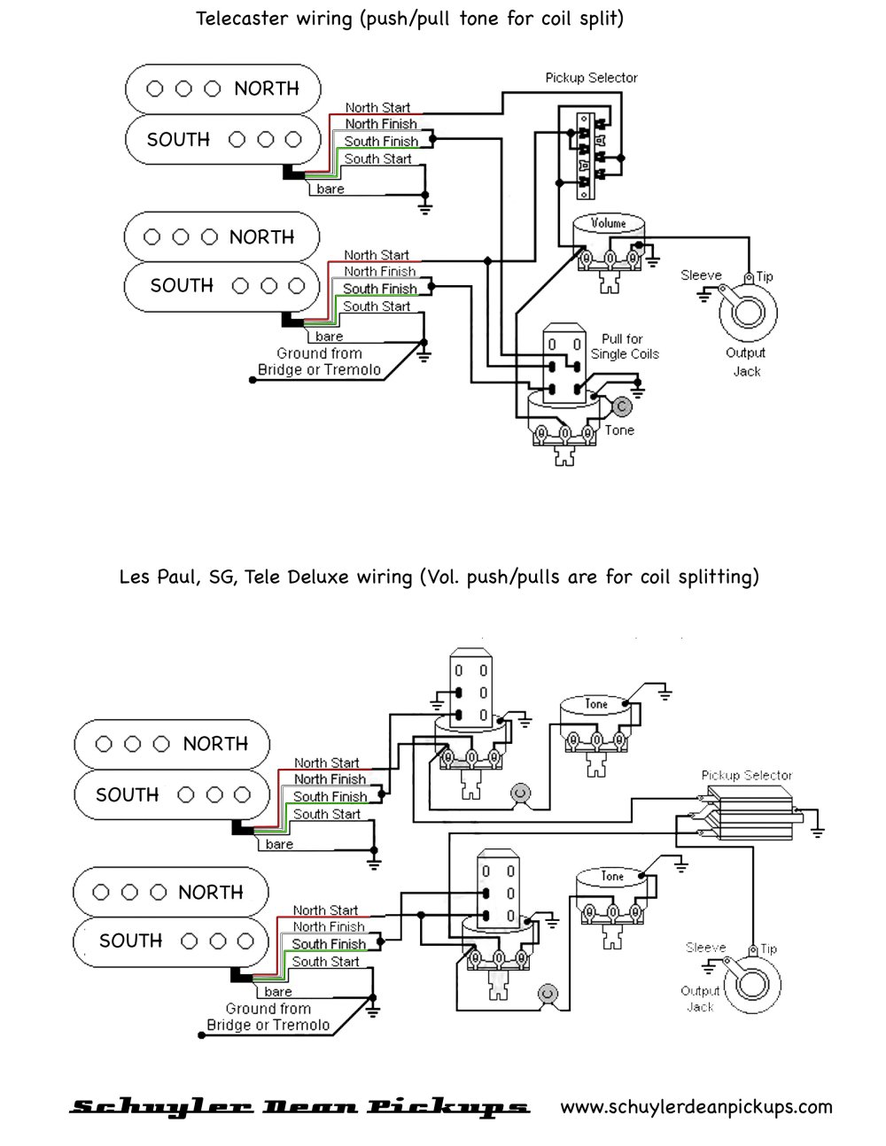 Dean Wiring Diagram - on