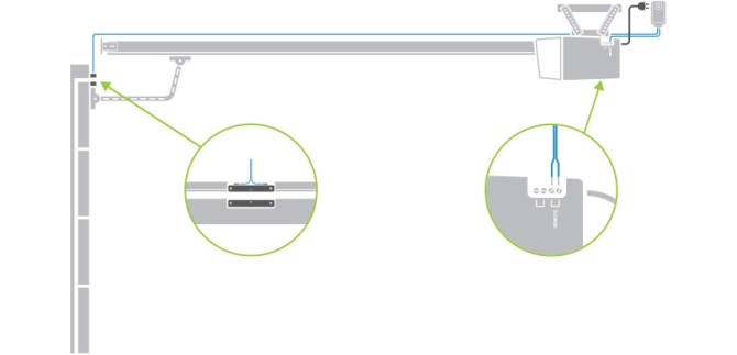 garage door control kit — insteon