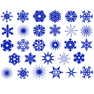 sale snowflake mix pack