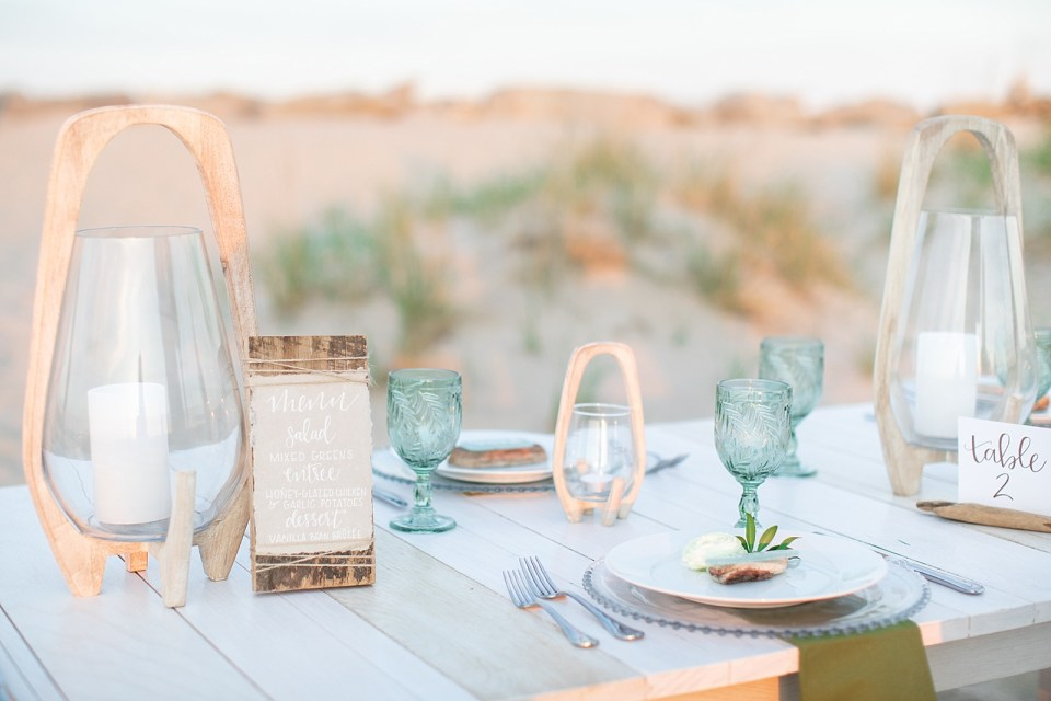 Ashley Mac Photographs and Mallory Weiss Planning create beach inspired styled shoot in New Jersey