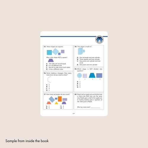 small resolution of 1st grade common core math workbook daily practice