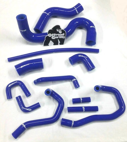 small resolution of silicone coolant hose kit 1st gen nissan xterra frontier vg33e vg33er 3 3l no body lift offroadgorilla com