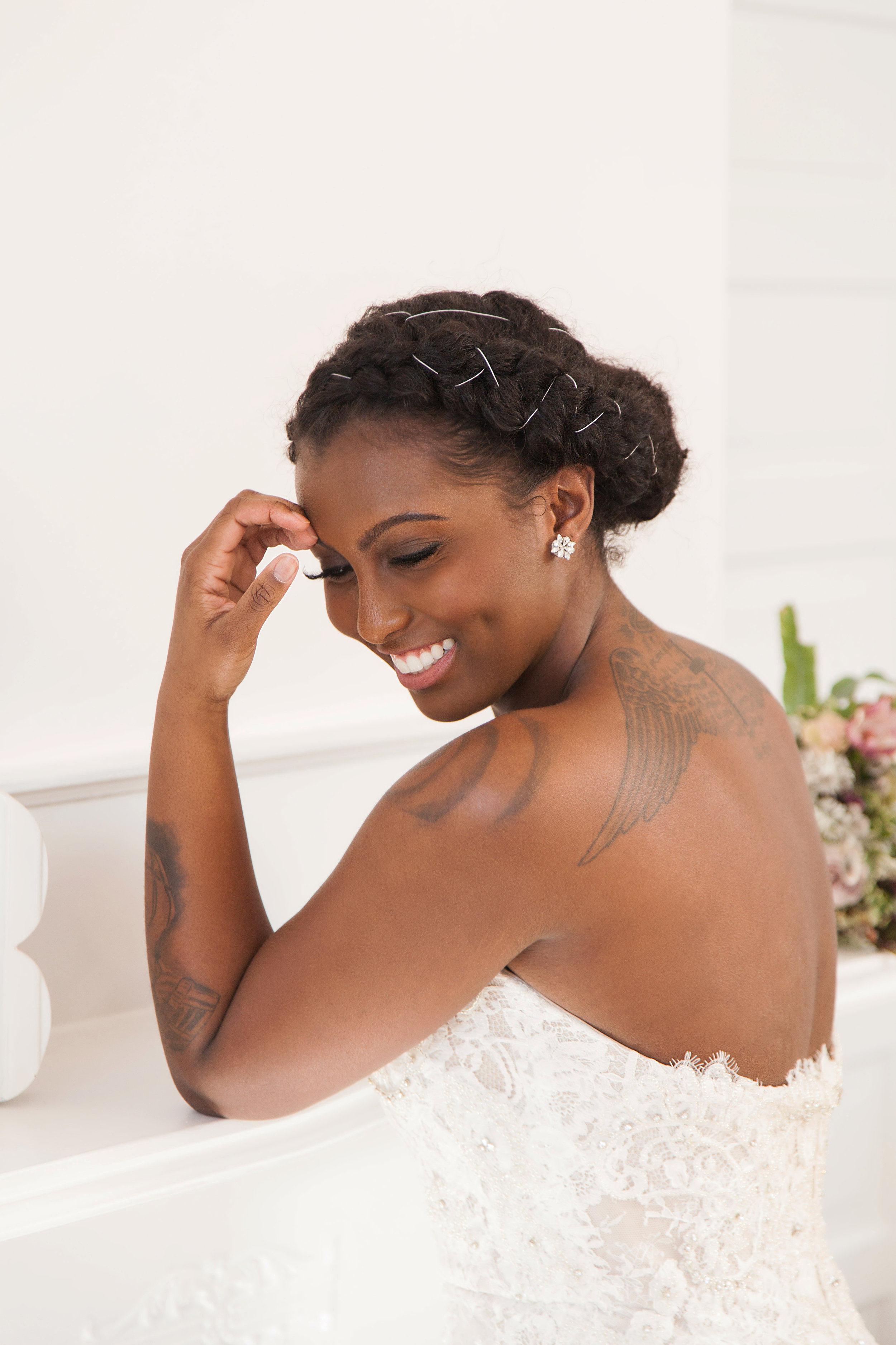 Black Beautea Talk Natural Bridal Hairstyles Especially For