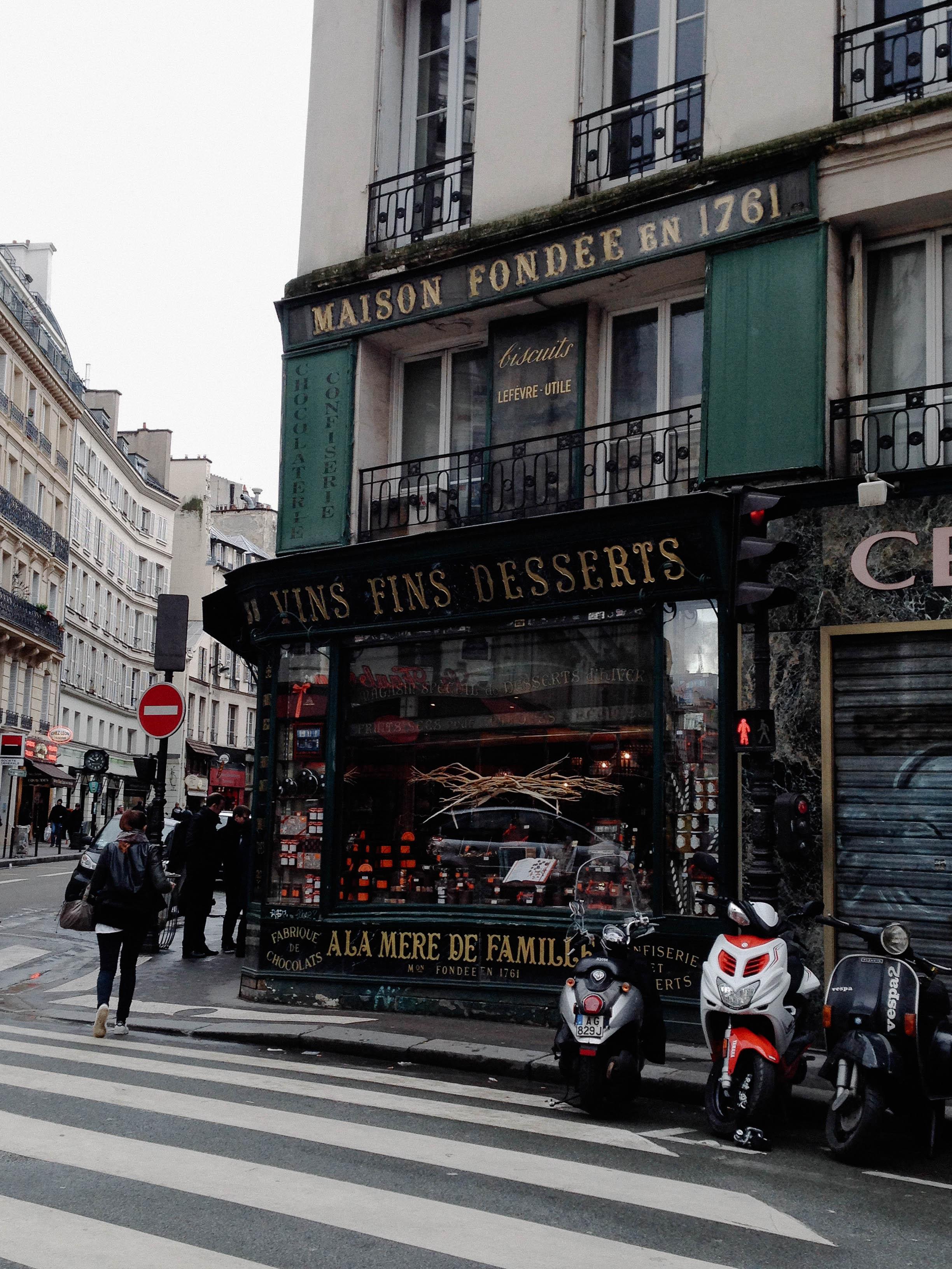 A La Mere De Famille Paris : famille, paris, Shelf, Mère, Famille, Artisanal, Recipes', Julien, Merceron, Kulinary, Adventures