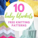 10 Easy Knit Baby Blankets For Beginners Blog Nobleknits