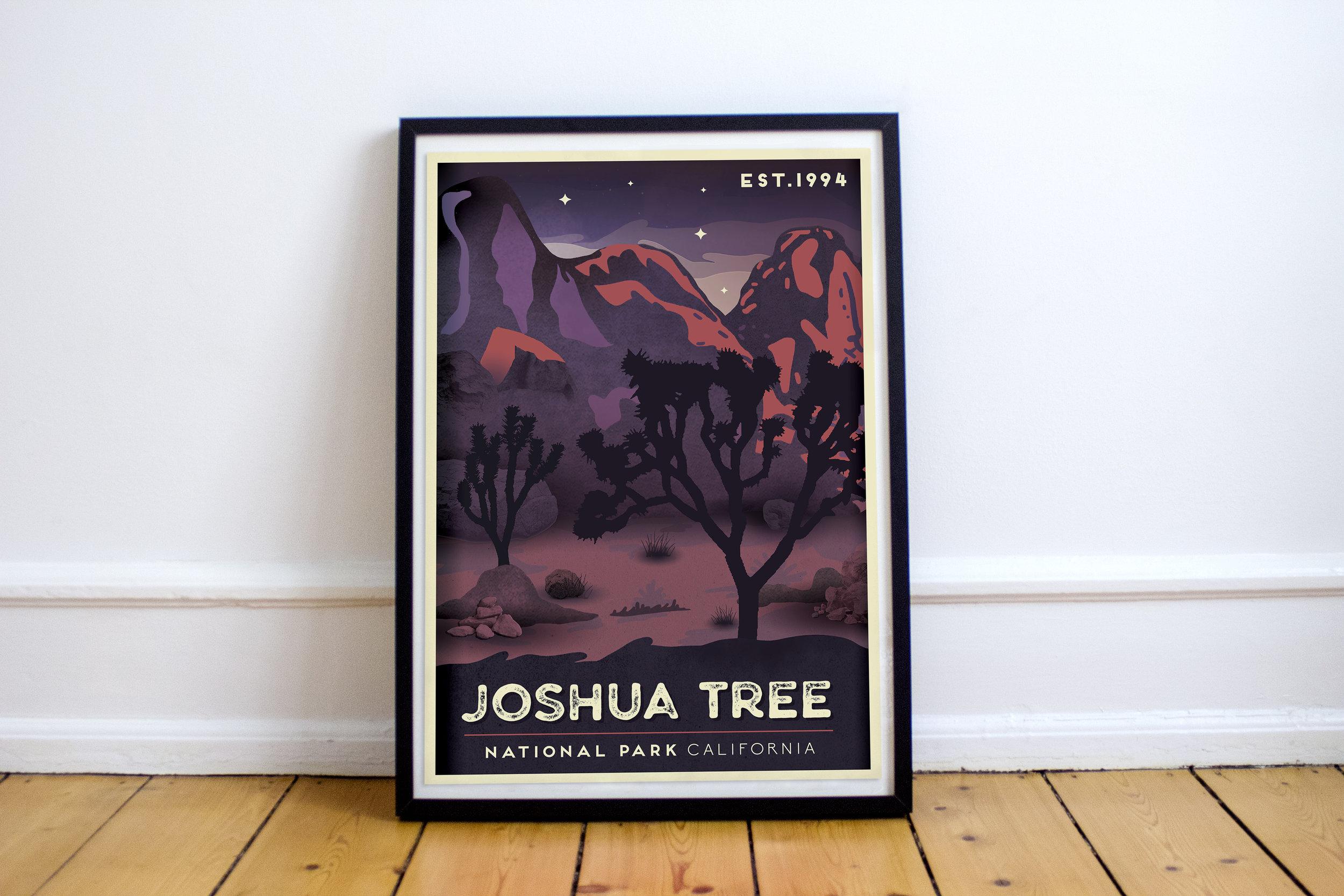 joshua tree print bethany porteous