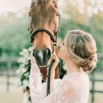 Horse Bridal Portraits Arkansas Wedding Planner Florist Education Zimmerman
