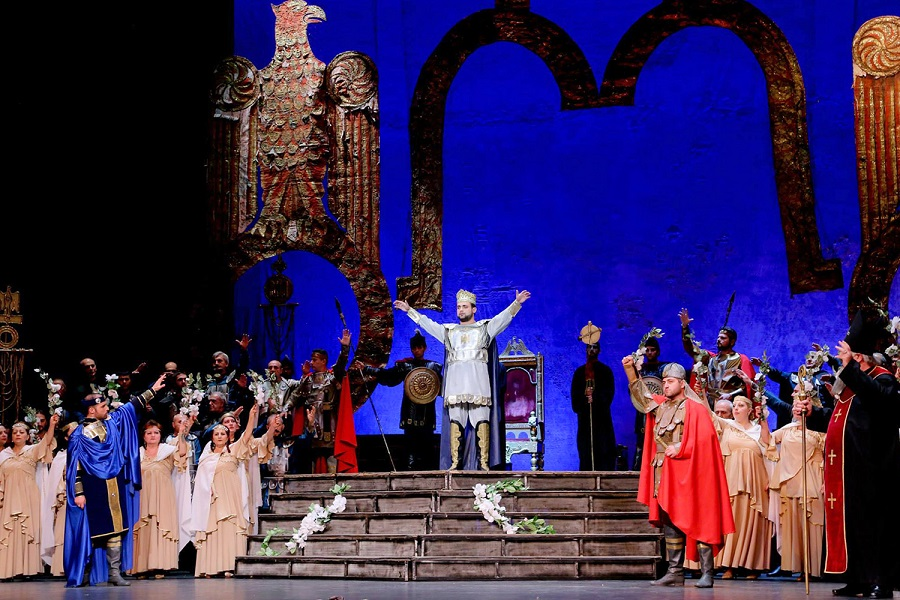 Современная постановка оперы Тиграна Чухаджяна «Аршак II» | opera.am