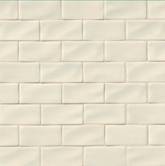 antique white subway tile 3x6 75 cabinets
