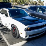 Dodge Challenger Hellcat Satin Black Hood Roof And Trunk Incognito Wraps