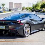 Ferrari 488 Gtb Satin Black Incognito Wraps