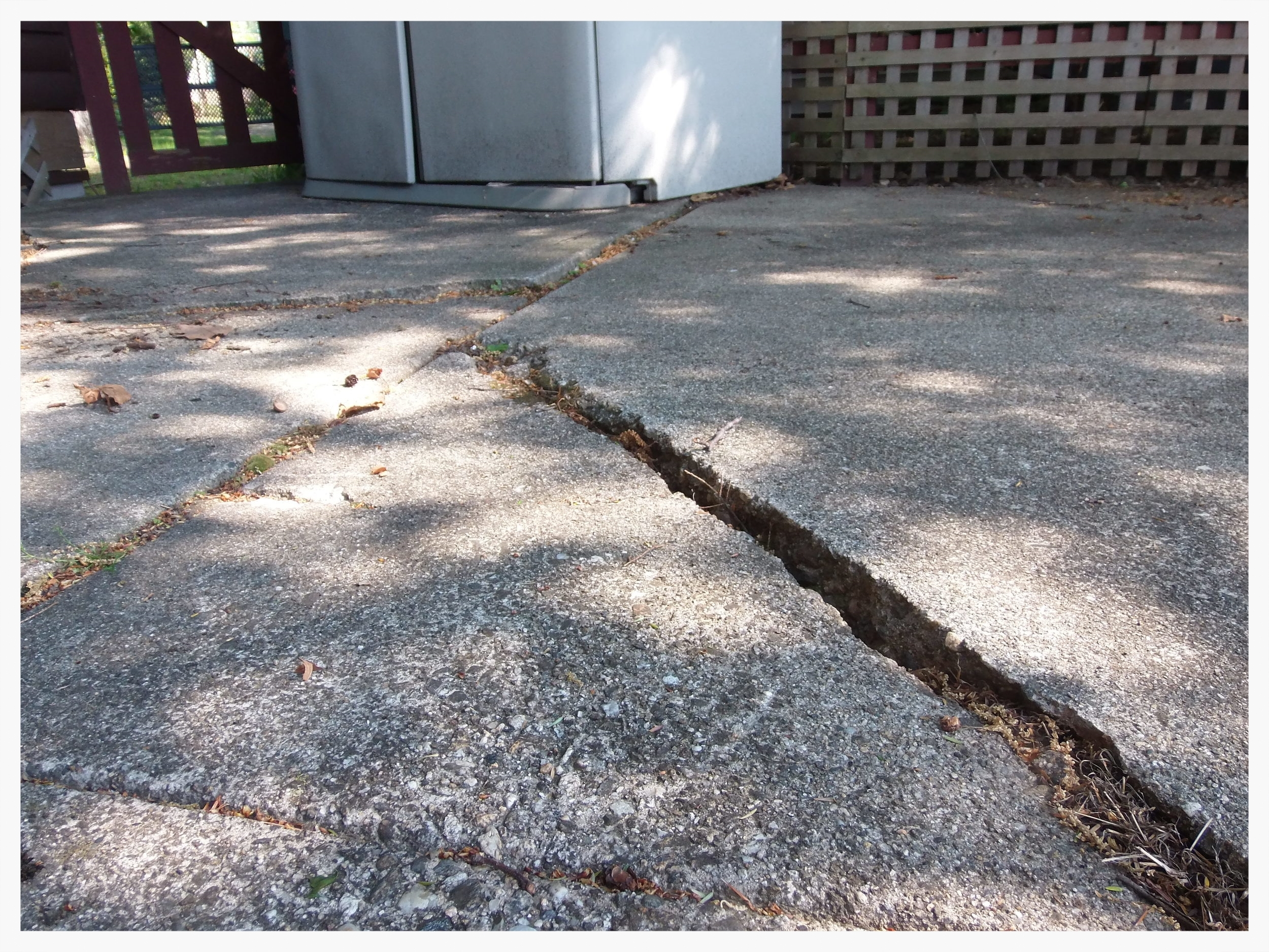 repairing your settling or sinking patio