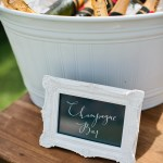 White Champagne Bucket Little Gray Station Wedding Styling Hire Brisbane Gold Coast Byron Bay