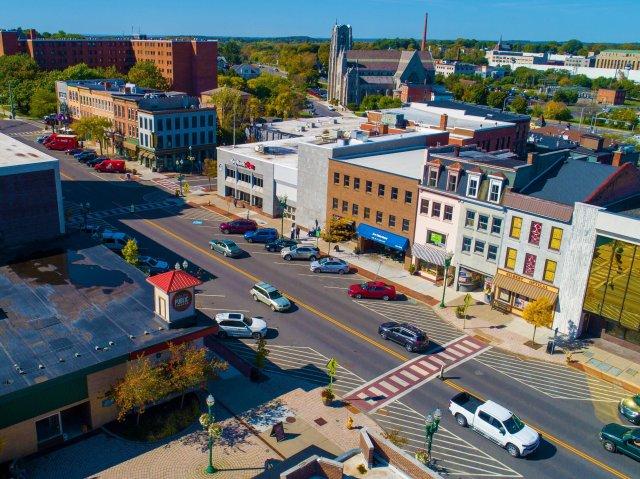Views of Downtown Auburn