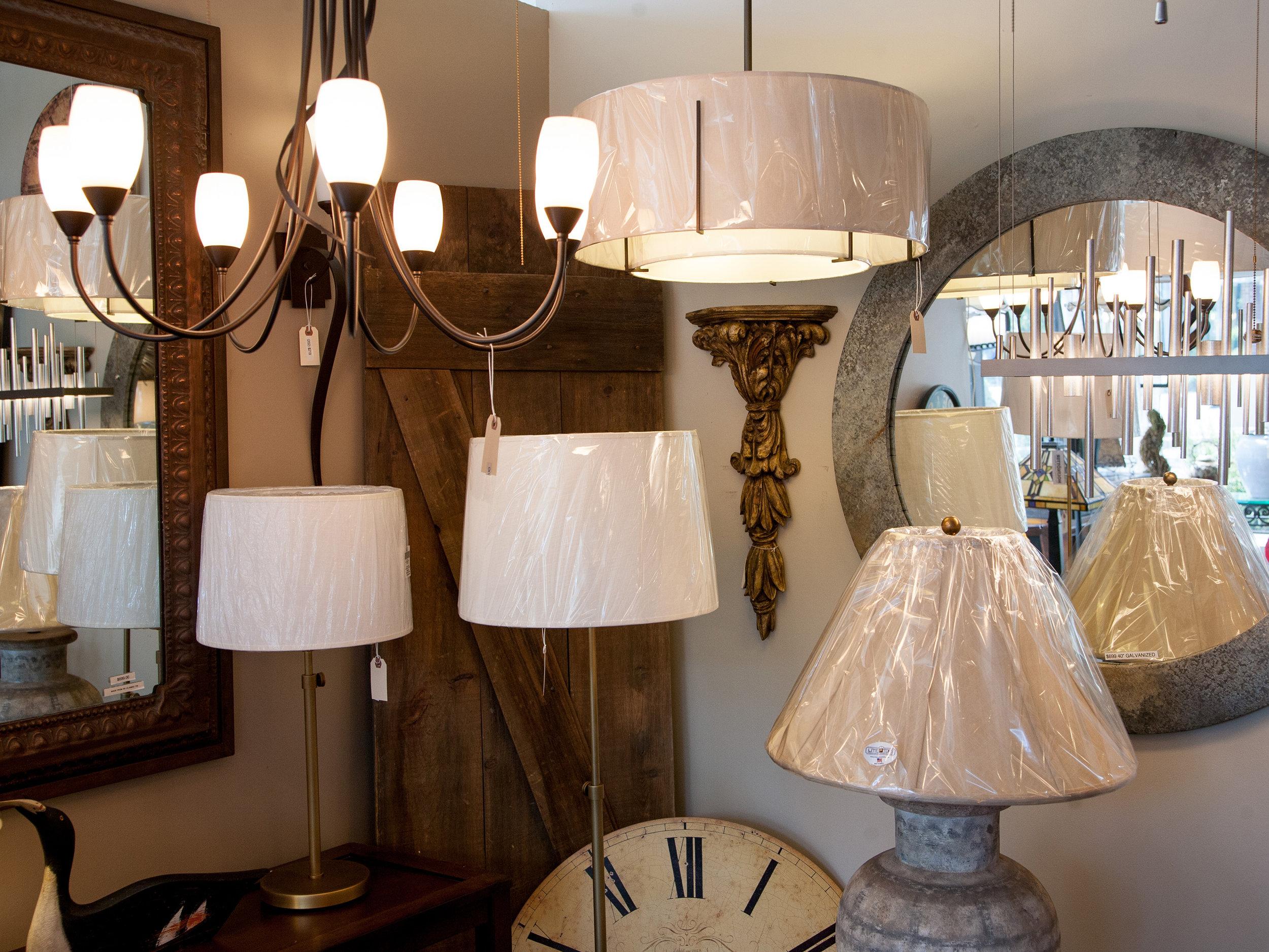 bedford lighting fixtures shades