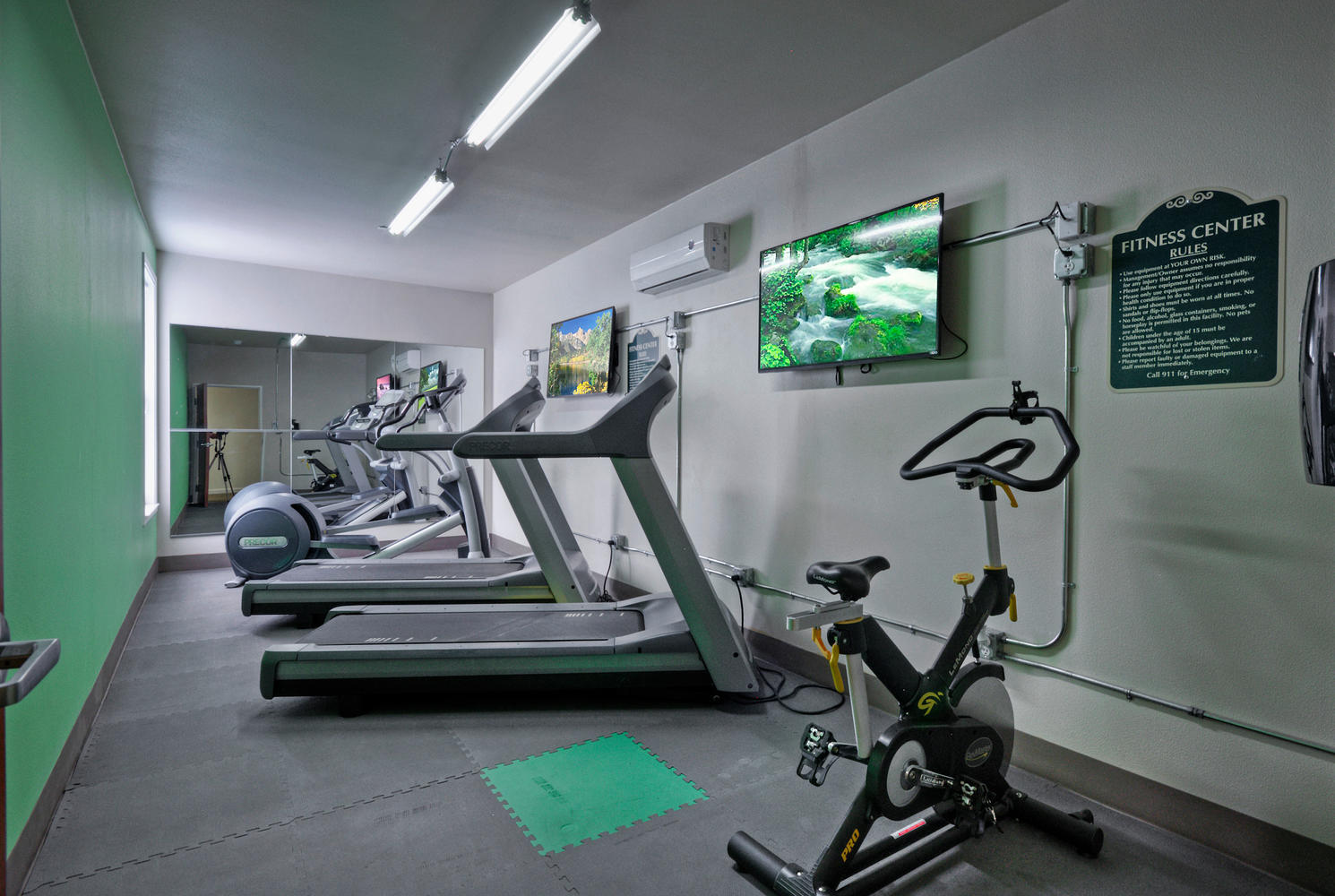 West Campus Lofts Fitness Center