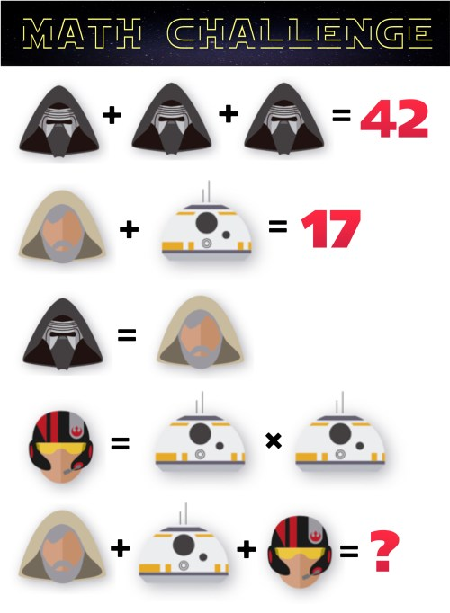 small resolution of Can Your Students Solve These Star Wars Math Problems? — Mashup Math