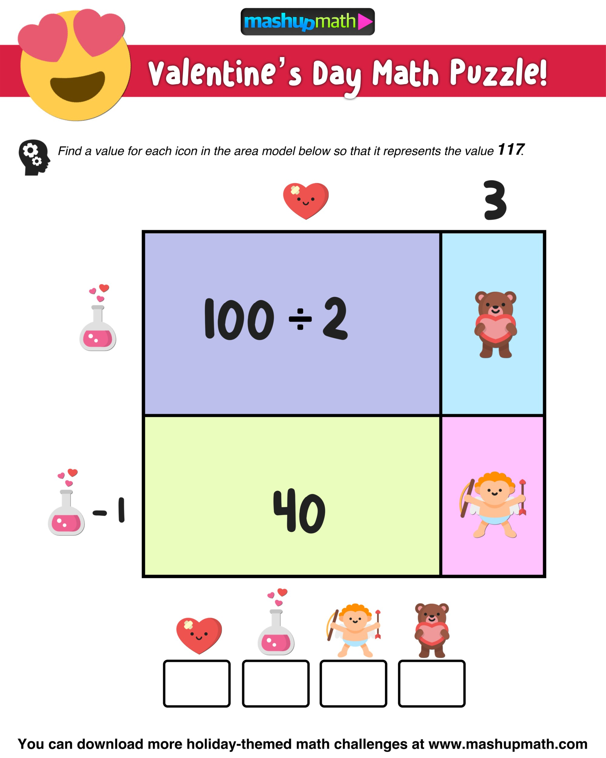 hight resolution of Your Kids Will Love These Valentine's Day Math Activities — Mashup Math