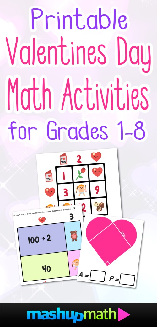 small resolution of Your Kids Will Love These Valentine's Day Math Activities — Mashup Math