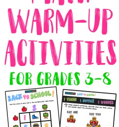 5 Effective Strategies for Improving Your Math Warm Up Activities — Mashup  Math [ 2570 x 1000 Pixel ]