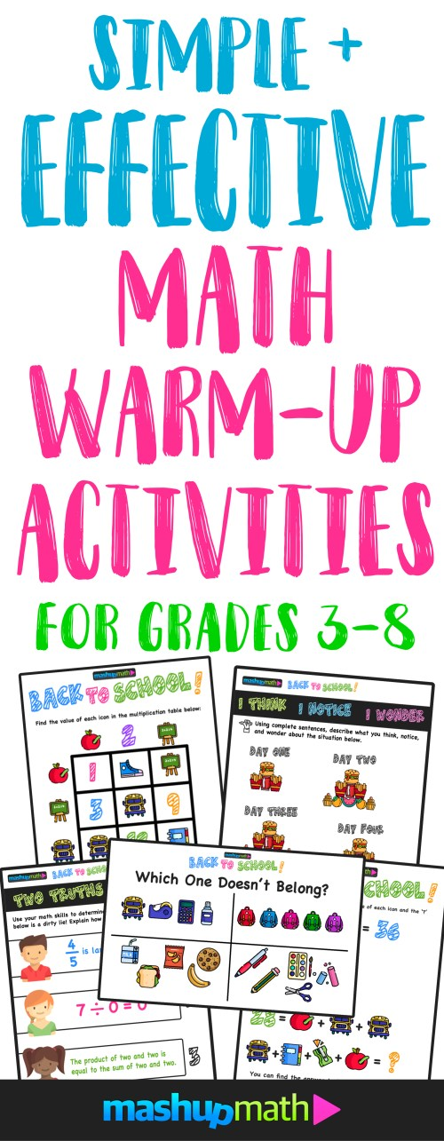 small resolution of 5 Effective Strategies for Improving Your Math Warm Up Activities — Mashup  Math