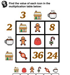 5 Awesome Christmas Math Activities for 5th Grade — Mashup Math [ 1505 x 1000 Pixel ]