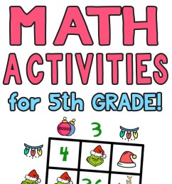 5 Awesome Christmas Math Activities for 5th Grade — Mashup Math [ 2084 x 1000 Pixel ]