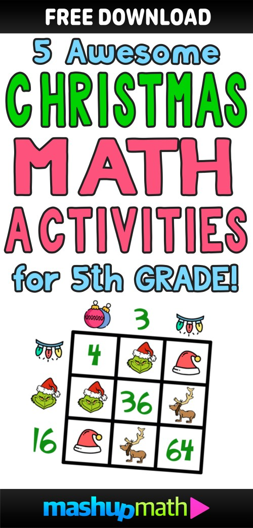 small resolution of 5 Awesome Christmas Math Activities for 5th Grade — Mashup Math