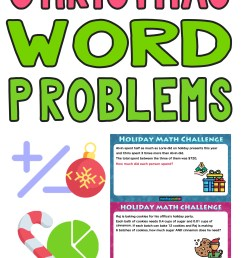 The Best Math Christmas Word Problems for 5th grade — Mashup Math [ 2084 x 1000 Pixel ]