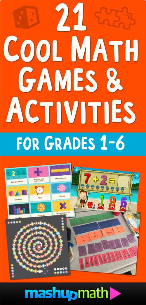 small resolution of 21 Cool Math Games and Activities for Kids in Elementary School — Mashup  Math