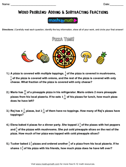 Division Word Problems 4th Grade Pdf - Easy Worksheet