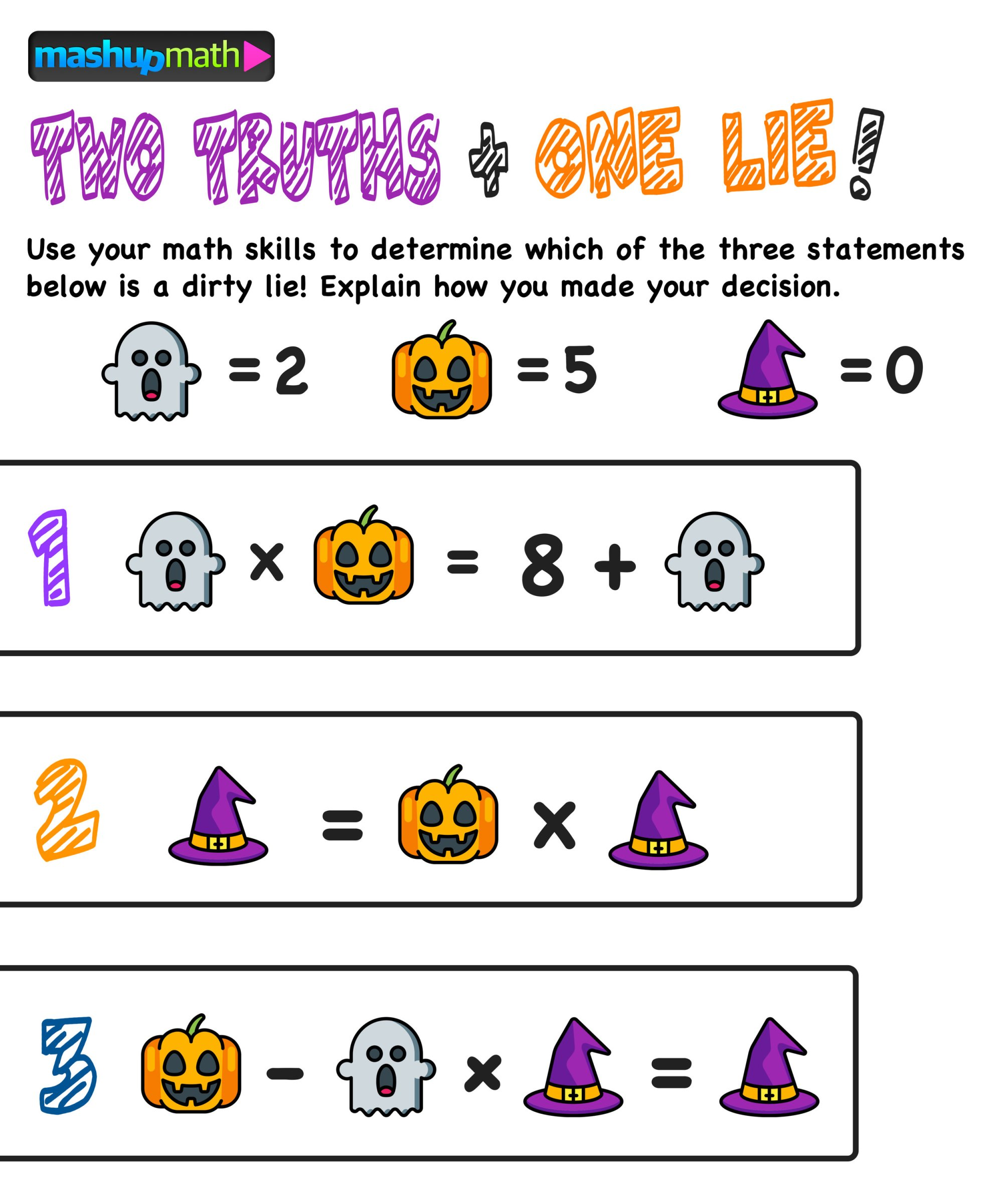 hight resolution of Are Your Kids Ready for These Halloween Math Activities? — Mashup Math